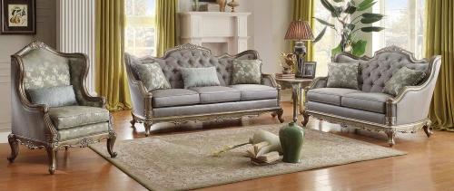 Fiorella Sofa Set - Dusky Taupe