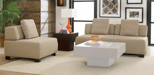 Darby Sofa Set - Oatmeal