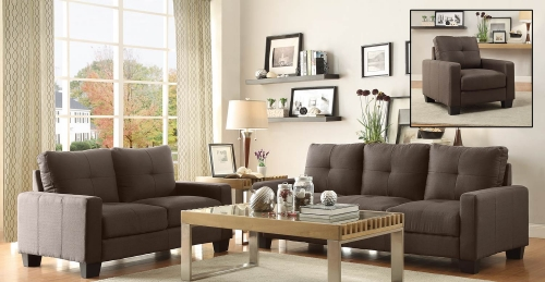Ramsey Sofa Set - Grey