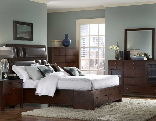 BC BED SET Vernnada Bedroom Set 1557