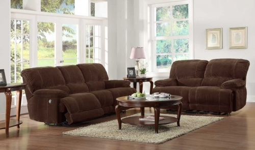 U PW Sullivan Power Reclining Sofa Set 197 200