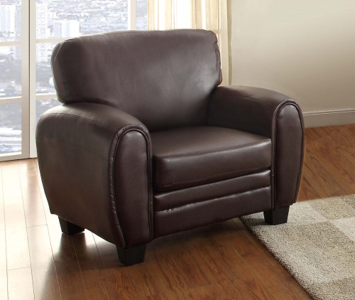 Rubin Chair - Dark Brown
