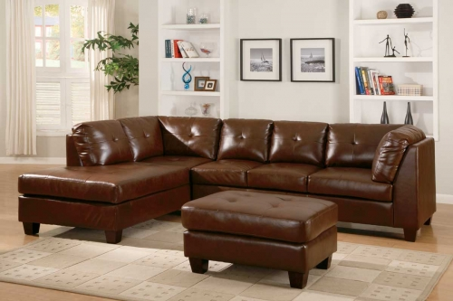 Morgan Sectional Brown