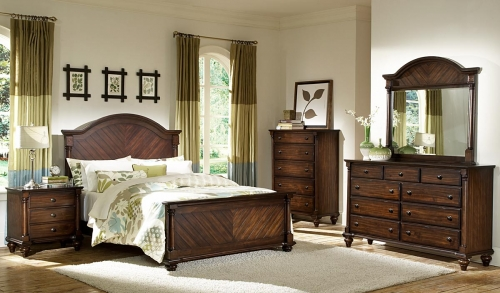 B Lily Pond Bedroom Set 1162