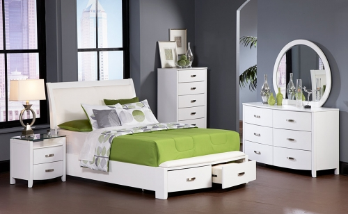 BW Lyric Platform Bedroom Set 1295