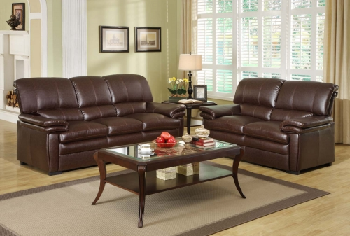 Excellent Homelegance U Constance Sofa Set Bonded Leather Match