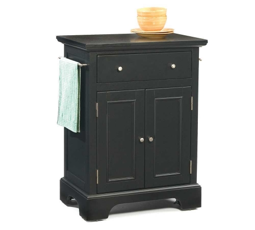 Home Styles Bedford Small Kitchen Cart 421 1000