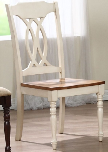 Traditional Back Dining Chair - Caramel/Biscotti