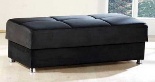 Elegant Ottoman - Rainbow Black