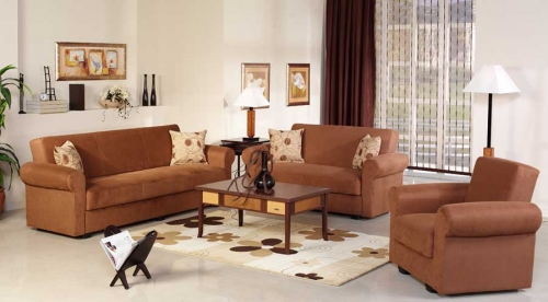 Elita Sofa Collection - Rainbow Brown