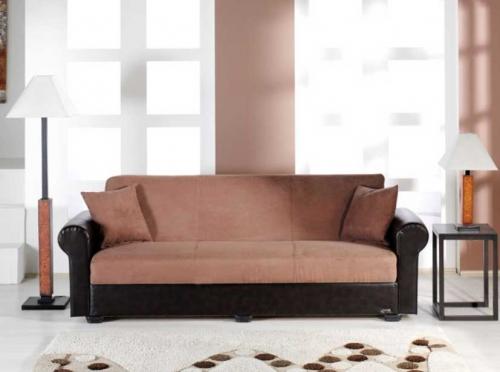 Enea Sofa - Rainbow Truffle