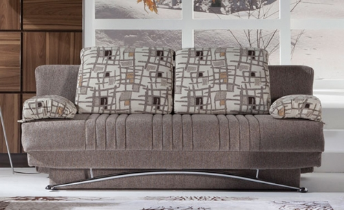 Fantasy Sofa - Aristo Brown