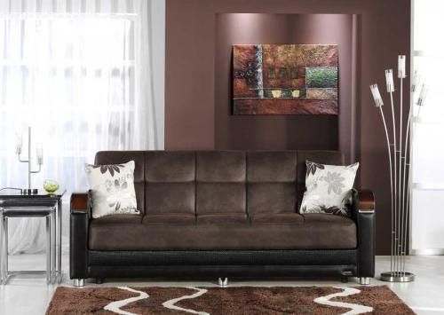 Luna Sofa - Chocolate