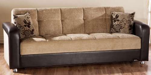 Vision Sofa - Benja Light Brown