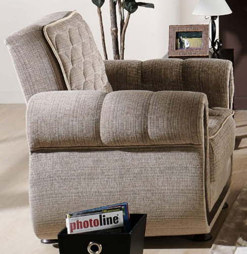 Argos Arm Chair - Zilkade Light Brown
