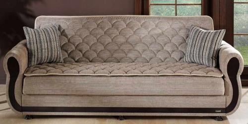 Argos Sleeper Sofa - Zilkade Light Brown