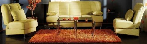 Vegas Sofa Collection - Rainbow Green
