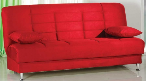 Vegas Sofa - Rainbow Red