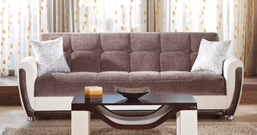 Vella Sleeper Sofa - Jennefer Brown