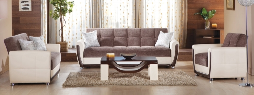 Vella Living Room Set - Jennefer Brown