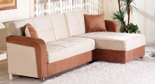 Vision Sectional - Rainbow Beige