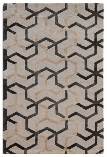 Blue Addy BL125 Antique White Area Rug