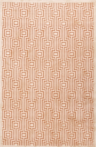 Fables Valiant FB16 Orange Area Rug