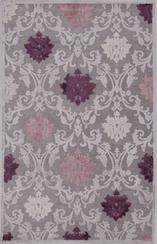 Fables Glamourous FB26 Gray Area Rug
