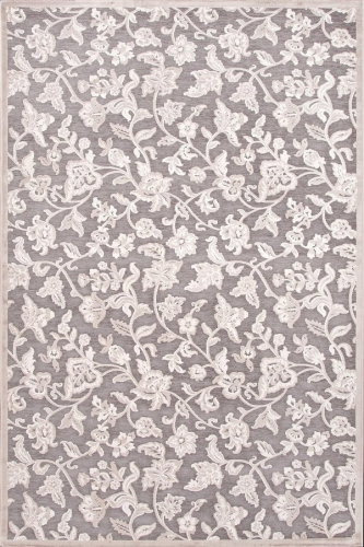 Fables Lucie FB54 Gray Area Rug