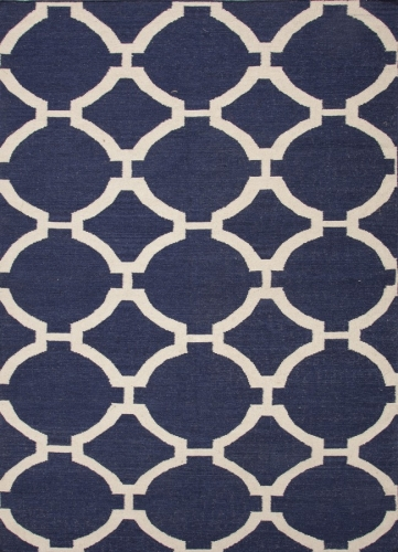 Maroc Rafi MR44 Deep Navy Area Rug