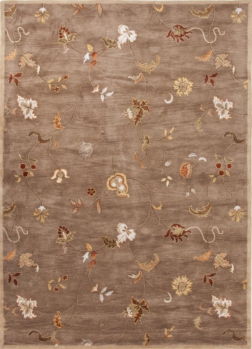 Poeme Alsace PM01 Gray Brown Area Rug