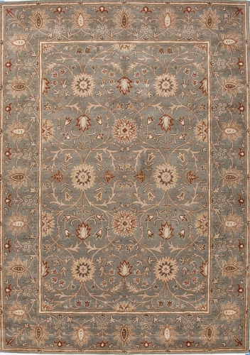 Poeme Rennes PM05 Sea Green Area Rug