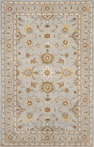 Poeme Abralin PM104 Sky Blue Area Rug