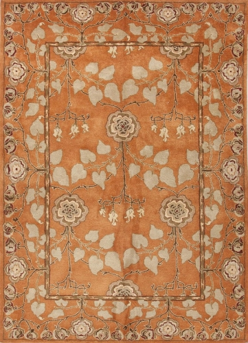 Poeme Rodez PM57 Pumpkin Area Rug