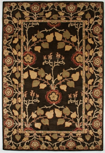 Poeme Rodez PM58 Deep Charcoal Area Rug