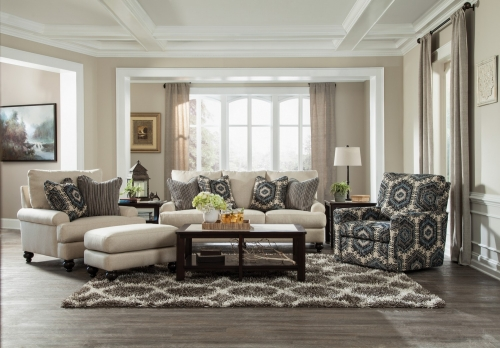 Westchester Sofa Set - Indigo