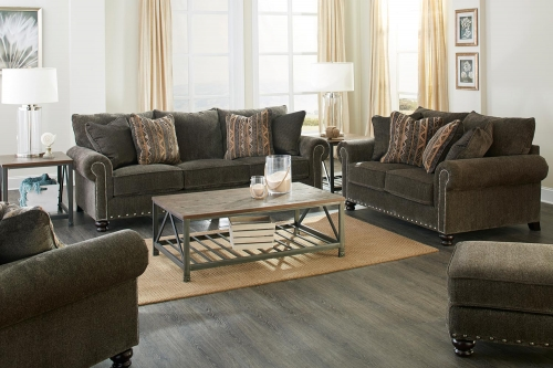 Avery Sofa Set - Tigers Eye