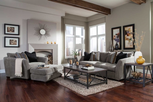 Brighton Sofa Set - Cobblestone