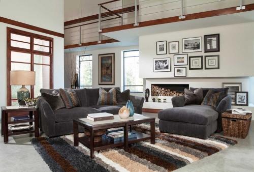 Jackson Brighton Sofa Set - Graphite