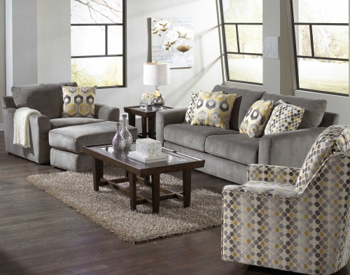 Sutton Sofa Set - Cobblestone