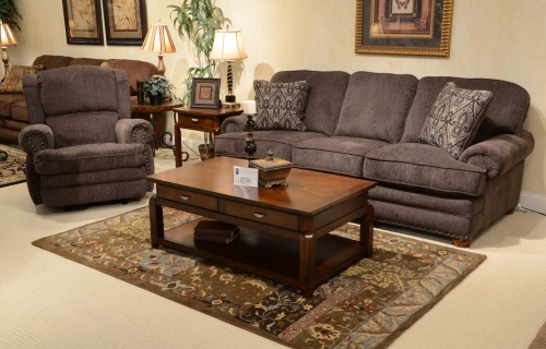 Braddock Sofa Set - Metal
