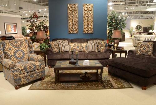 Belmont Sofa Set - Mahogany
