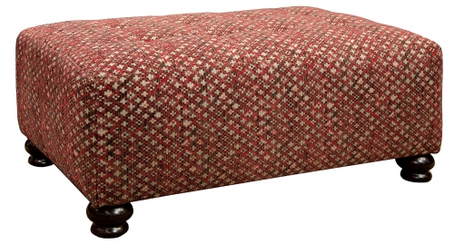 Southport Cocktail Ottoman - Fireside