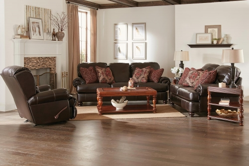 Southport Sofa Set - Espresso