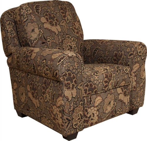Downing Press Back Recliner - All Spice