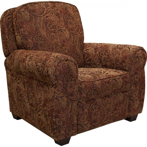 Downing Press Back Recliner - Shalimar