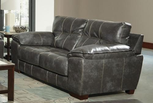 Hudson Loveseat - Steel