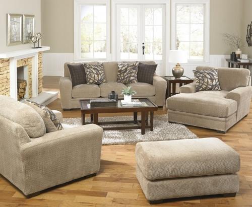 Prescott Sofa Set - Putty