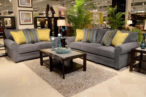 Anniston Sofa Set - Carbon