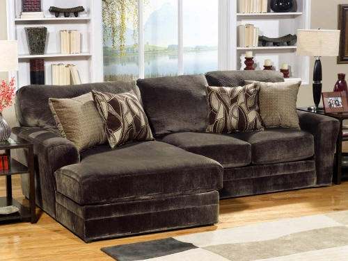 Everest Customizable Sectional Sofa Set A - Chocolate